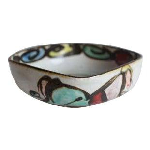 Arts & Crafts Square Artist Bowl For Sale