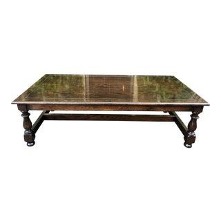 Jacobean Style Coffee Table by Henry Cadena - Nancy Sinatra Estate For Sale