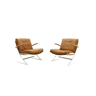 Pair of Lobby Lounge Chairs by Preben Fabricius for Arnold Exclusiv, 1972 For Sale