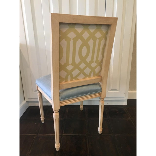 Louis Style Square Back Dining Chairs - Set of 4 - Image 5 of 7