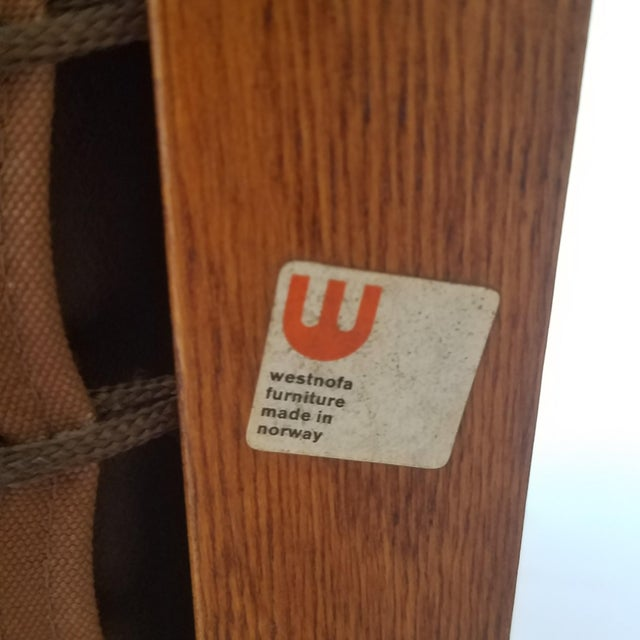 """1970s Ingmar Relling Newly Upholstered """"Seista"""" Chairs - a Pair For Sale - Image 12 of 13"""