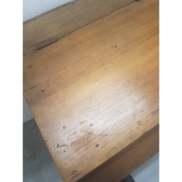 Antique Coffee Bin For Sale - Image 11 of 13