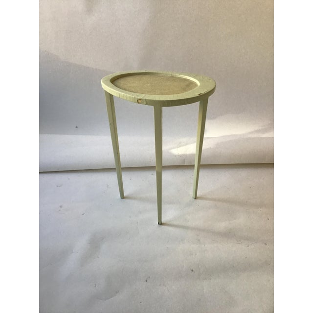 Set of Three R & Y Augousti Organic Shaped Shagreen Drink Tables For Sale - Image 10 of 13