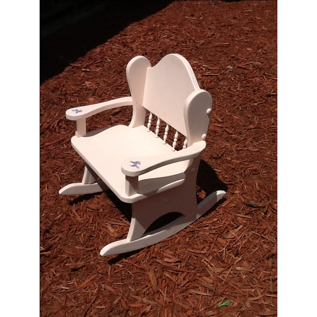 Vintage Child's Rocking Chair - Image 3 of 5