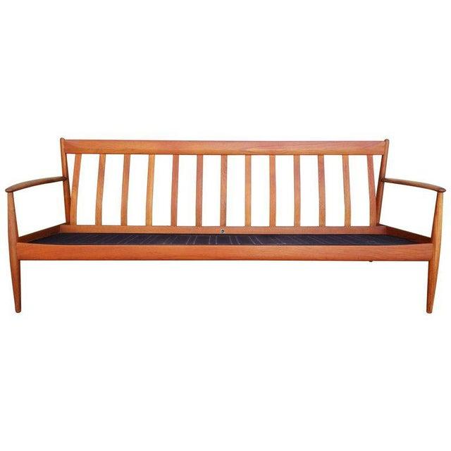 Teak Danish Modern Sofa by Grete Jalk For Sale - Image 12 of 12