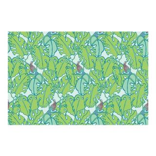 Tropics Multi Linen Cotton Fabric, 6 Yards For Sale