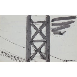 San Francisco Golden Gate Bridge in Ink, 1976