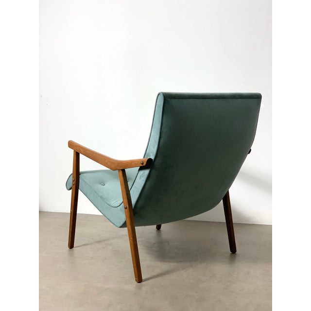 1950s Milo Baughman for Thayer Coggin Walnut Lounge Chair, 1950's For Sale - Image 5 of 9