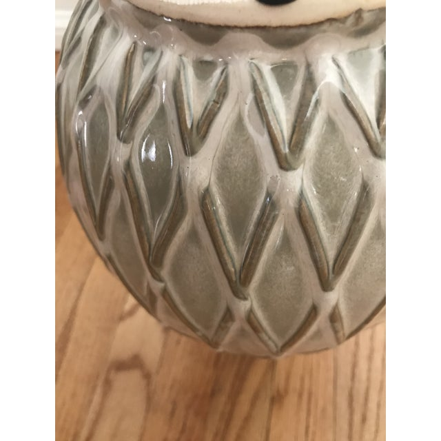 Glazed Ceramic Pottery Vase For Sale - Image 5 of 7