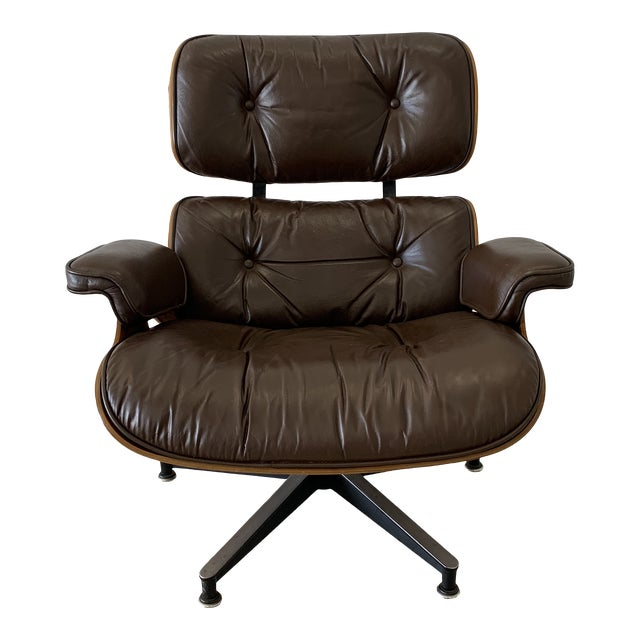 1970s Vintage Herman Miller Eames Lounge Chair For Sale