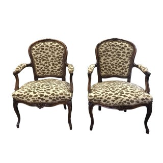 Pair of French Louis XV Style Armchairs Preview