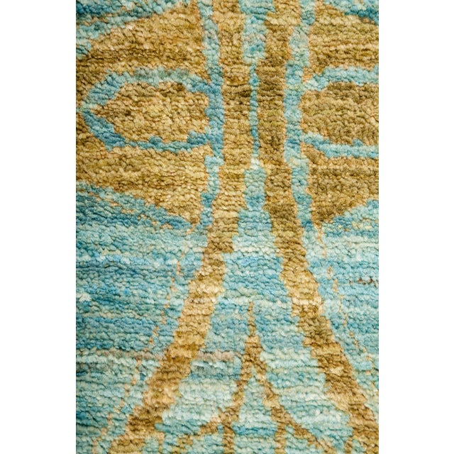 """Contemporary Suzani Hand Knotted Runner - 2'7"""" X 8'3"""" For Sale - Image 3 of 4"""