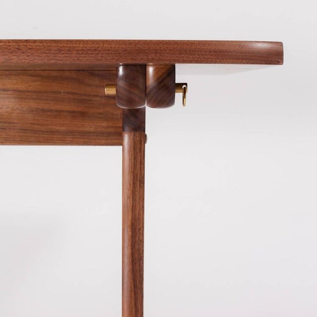 Asa Pingree Physalia Desk in American Walnut For Sale In New York - Image 6 of 9