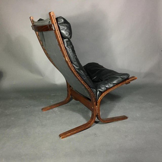 "Ingmar Relling ""Siesta"" Lounge Chair + Ottoman, Norway 1960s For Sale In New York - Image 6 of 12"