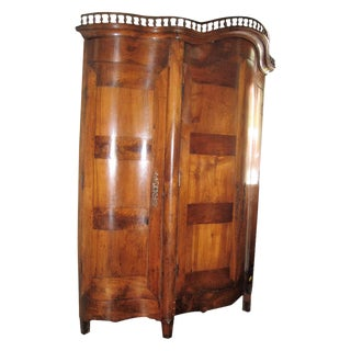 19th Century Walnut Armoire