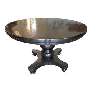 Postobello Round Pedastal Dining Table For Sale