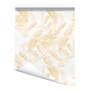 """Victoria Larson Stay Wild Wallpaper Sample - Ochre - 10x10"""" For Sale"""