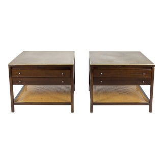 1950s Mid Century Modern Paul McCobb End Tables - a Pair For Sale