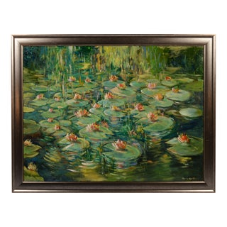 Monet's Giverny Gardens Painting For Sale