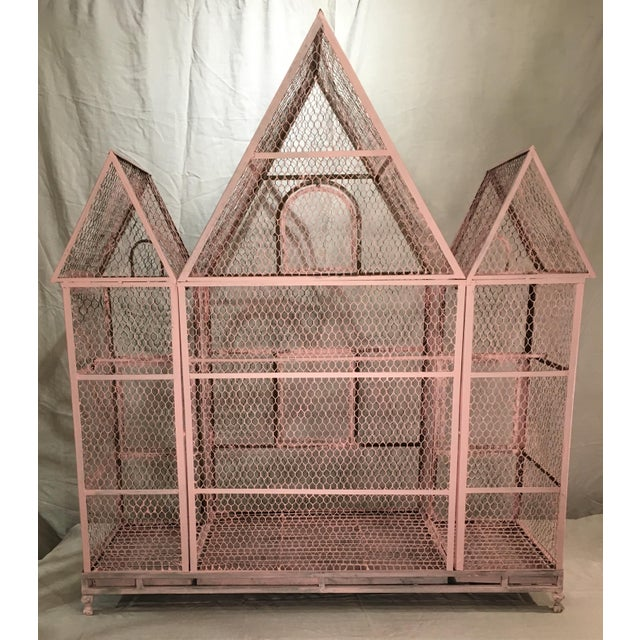 Pink Chateauseque Birdcage - Image 7 of 11
