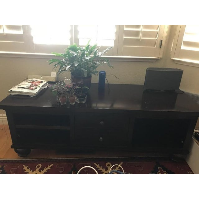 Restoration Hardware Media Console For Sale - Image 11 of 12