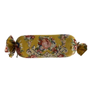 Clarence House Yellow Bolster For Sale