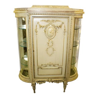 1910s Louis XVI Cabinet For Sale