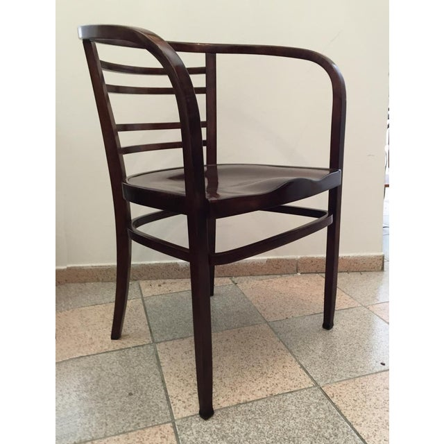 Early 20th Century Viennese Secession bentwood armchair, 1900s For Sale - Image 5 of 8