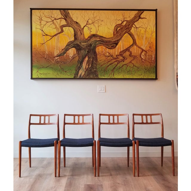 1960s Newly Upholstered Niels Moller Model 79 Side Chairs - Set of 4 For Sale - Image 13 of 13
