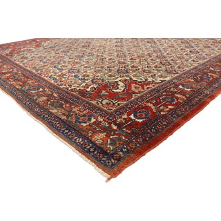 1920s Antique Persian Mahal Rug- 8′8″ × 11′7″ Preview