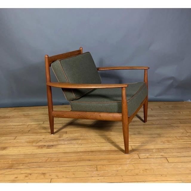 1950s 1950s Grete Jalk Armchair, France & Deverkosen, Denmark For Sale - Image 5 of 12