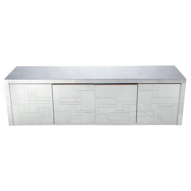 """PAUL EVANS """"CITYSCAPE"""" WALL-MOUNTED CABINET - Image 1 of 7"""