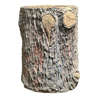 19th Century Faux Bois Tree Trunk Jardiniere For Sale