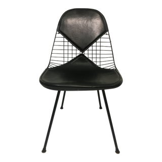 Vintage Black on Black D K R Bikini Chair by Charles Eames for Herman Miller For Sale