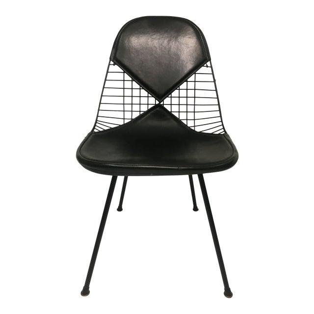 Vintage Black on Black D K R Bikini Chair by Charles Eames for Herman Miller For Sale