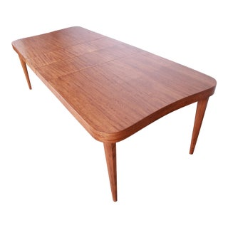 Gilbert Rohde for Herman Miller Art Deco Paldao Group Extension Dining Table, Newly Restored For Sale