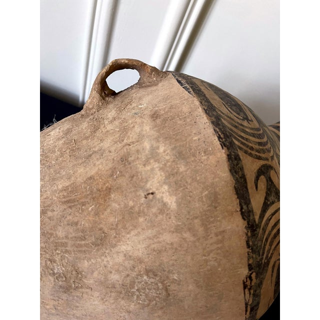 15th Century & Earlier Chinese Neolithic Painted Pottery Jar For Sale - Image 5 of 13
