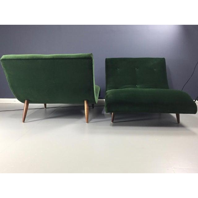 Adrian Pearsall Wave Lounge Chaise - Image 4 of 8