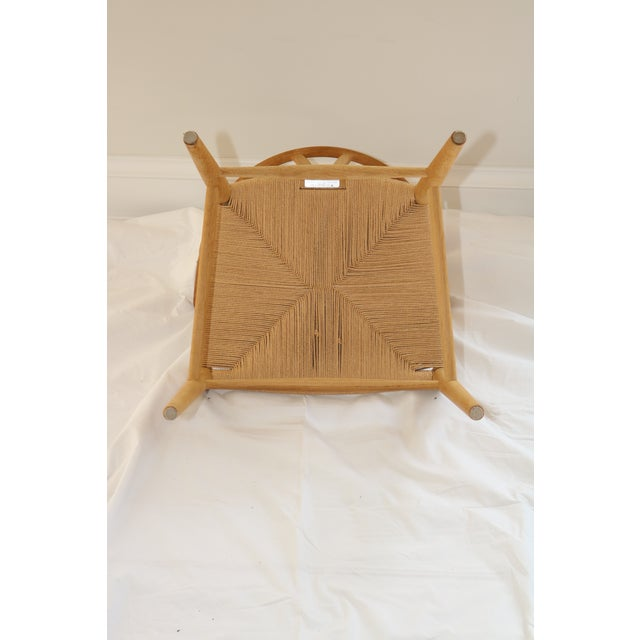 Hans Wegner for Carl Hansen & Son Ch24 Wishbone Chairs - Set of 8 For Sale - Image 12 of 13