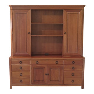 Stickley 21st Century Collection Cherry Office Display Cabinet For Sale