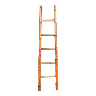 Vintage Bamboo Ladder, 1960s For Sale