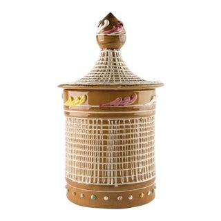 Mid Century Italian Cookie Jar For Sale