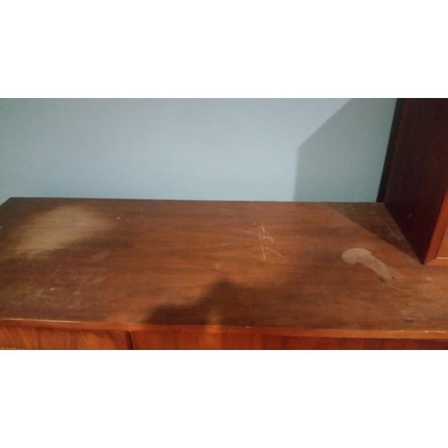 Mid-Century Modern Custom Made Credenza With Hutch - Image 5 of 6