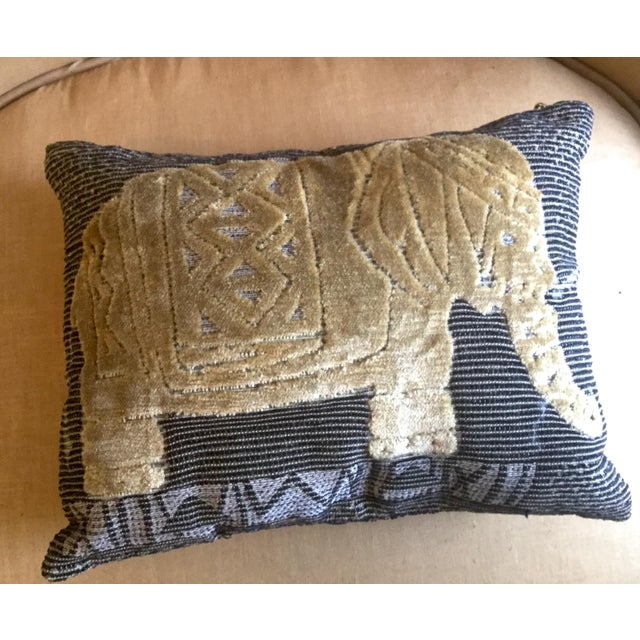 Malawi Elephant Throw Pillow : Elephant Throw Pillow Chairish