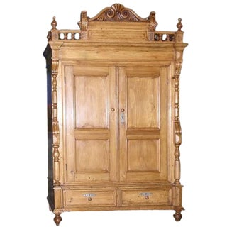 Neo-Gothic Armoire, Circa 1870 For Sale