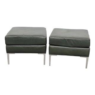 Mid-Century Modern Minimalist Footstools - a Pair For Sale