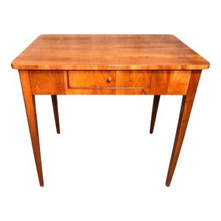 1820s Biedermeier Small Writing Desk For Sale