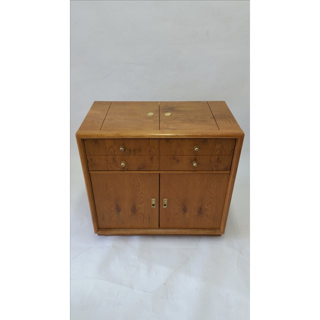 Stanley Mid-Century Rolling Bar - Image 3 of 7
