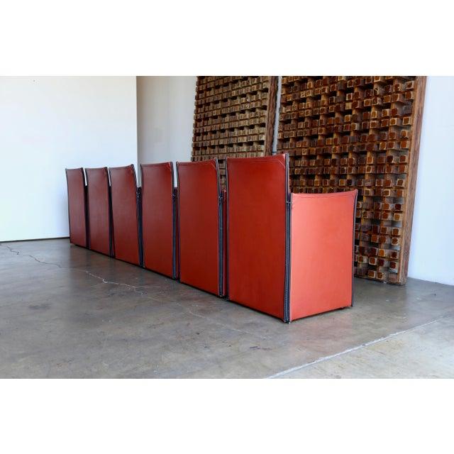 Mario Bellini 'Break' Armchairs - Set of 6 For Sale - Image 11 of 13