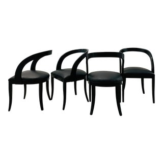 1980s Italian Pietro Costantini Dining Chairs Refinished by Reitter Design Studio - Set of 4 For Sale